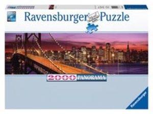 Ravensburger 16619 - Bay Bridge, San Francisco, 2000 Teile Puzzl