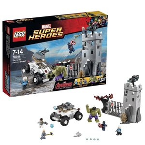 LEGO® Super Heroes 76041 - Avengers Einbruch in die Hydra-Festun