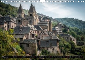 On the path of Aveyron (Wall Calendar 2015 DIN A4 Landscape)