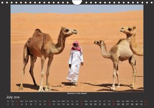 Magical Oman UK Version (Wall Calendar 2016 DIN A4 Landscape)