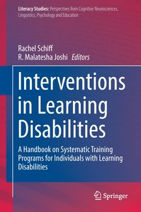 Interventions in Learning Disabilities