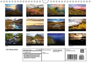 THE HIGHLANDS (Wall Calendar 2015 DIN A4 Landscape)