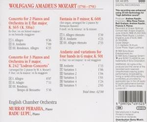 Konzerte für 2 & 3 Klaviere/Andante und Variatione