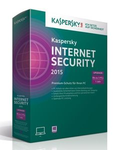 Kaspersky Internet Security 2015 3 Lizenzen Upgrade