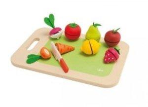 Sevi 82320 - Schneidebrett mit Obst & Gemüse