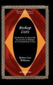 Bishop Lists