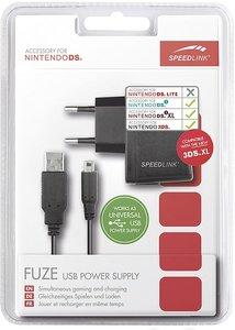 Speedlink SL-5312-BK FUZE USB Power Supply, Ladegerät für NDS®