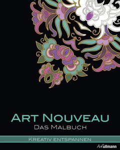 Kreativ entspannen: Art Nouveau