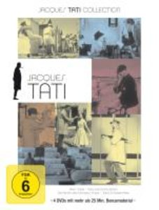 Jacques Tati Collection. 4 DVD-Videos