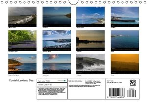 Cornish Land and Sea (Wall Calendar 2015 DIN A4 Landscape)