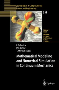Mathematical Modeling and Numerical Simulation in Continuum Mech