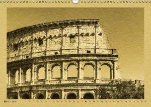 Rome-a calendar in newspaper style / UK-Version (Wall Calendar 2