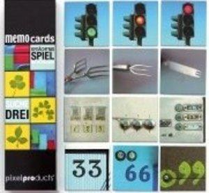 Suche Drei - memo cards