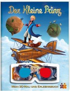 Der kleine Prinz. Mein 3D-Mal- und Erlebnisbuch