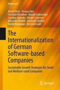 The Internationalization of German Software-based Companies