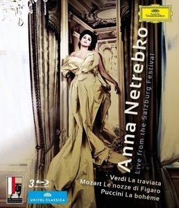 Anna Netrebko-Live Aus Salzburg (3 Blu-Ray)