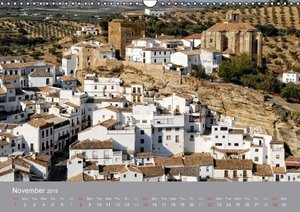 White villages of Andalusia (Wall Calendar 2015 DIN A3 Landscape