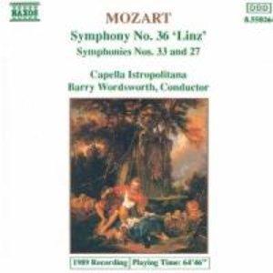 "Sinfonien 27+33+36 ""Linz"""
