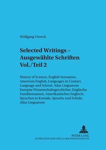 Selected Writings - Ausgewählte Schriften Vol./Teil 2