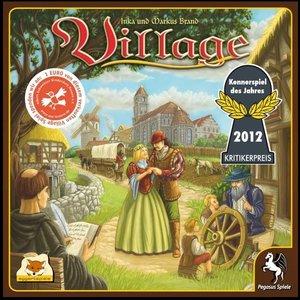 Pegasus Spiele 54511G - Village (Fachhandelsausgabe)