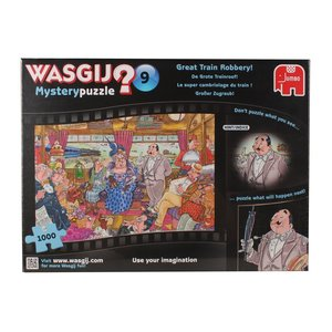 Wasgij Mystery 9 - Großer Zugraub! - 1000 Teile