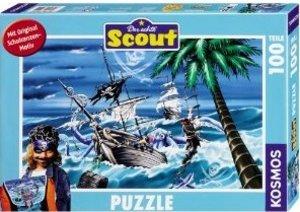 Kosmos 731212 - Scout: Black John, 100 Teile Puzzle