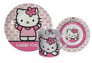 p:os 68175 - Hello Kitty: Frühstücksset