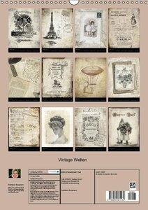 Bergmann, K: Vintage Welten (Wandkalender 2015 DIN A3 hoch)