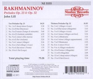 Rachmaninov Preludes op.23+32