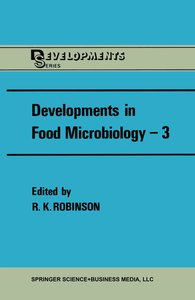 Developments in Food Microbiology-3