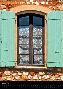 Fenêtres provençales (Calendrier mural 2015 DIN A3 vertical)