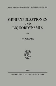 Gehirnpulsationen und Liquordynamik