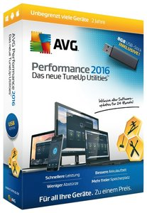 AVG Performance 2016 - USB-Stick