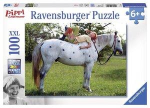 Pippi Langstrumpf 3. Puzzle 100 Teile XXL