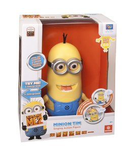 Minions - Jerry Singing Figure, mit Sound, ca. 25 cm