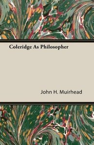 Coleridge As Philosopher