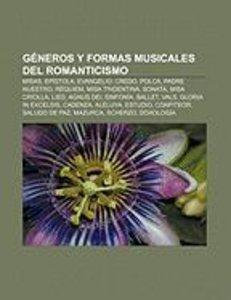 Géneros y formas musicales del Romanticismo