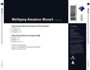 "Klavierkonzerte 23 & 26 ""Coronation"""