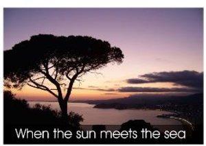 When the sun meets the sea (Poster Book DIN A3 Landscape)