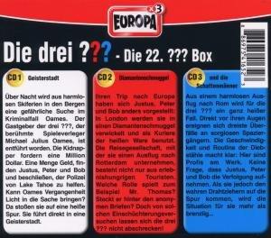 Die drei ??? Box 22 (drei Fragezeichen)