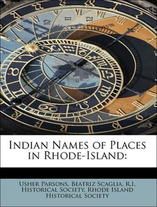 Indian Names of Places in Rhode-Island: