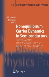 Nonequilibrium Carrier Dynamics in Semiconductors