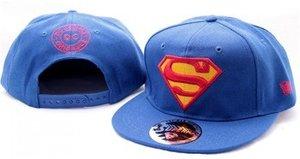 Superman Baseball Cap, Kappe, Classic Logo, blau