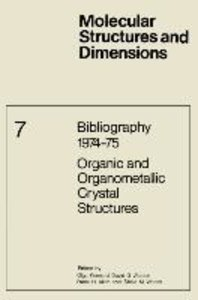 Bibliography 1974-75 Organic and Organometallic Crystal Structur