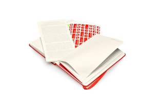 2015 Moleskine Red Pocket Weekly Notebook 12 Month Hard