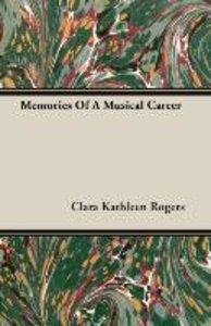 Memories of a Musical Career