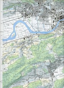 Swisstopo 1 : 25 000 Solothurn