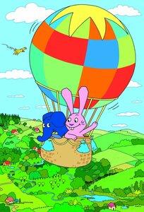 Die Sendung mit dem Elefanten: Dicke Freundschaft. Puzzle 2 x 48