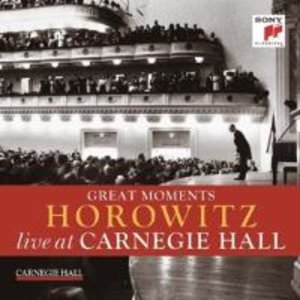 Great Moments of Vladimir Horowitz live at Carnegi