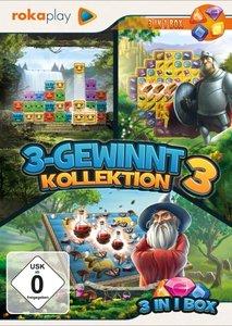 rokaplay - 3-Gewinnt Kollektion 3. Für Windows Vista/7/8/10